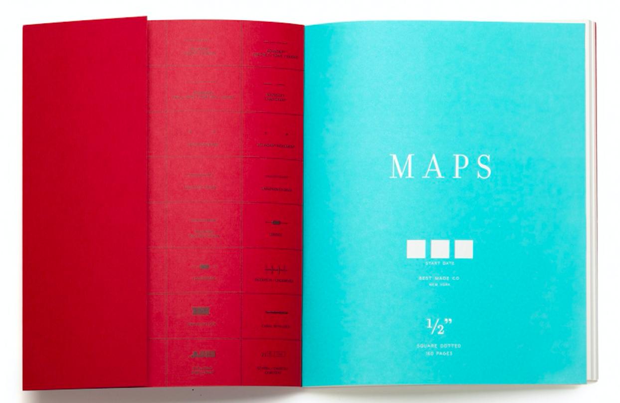 Best Made Map Notebook