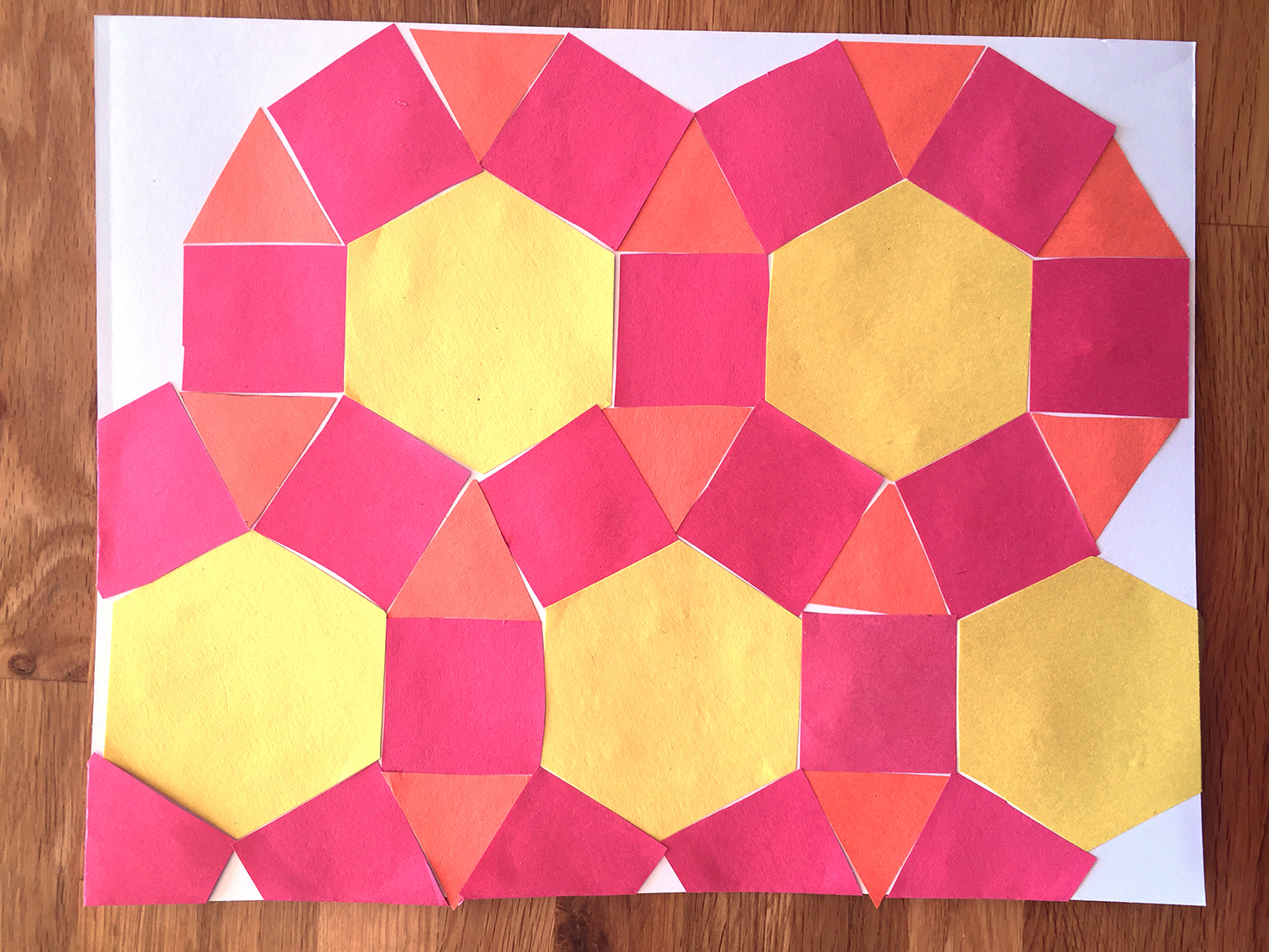 how to create a reflection tessellation
