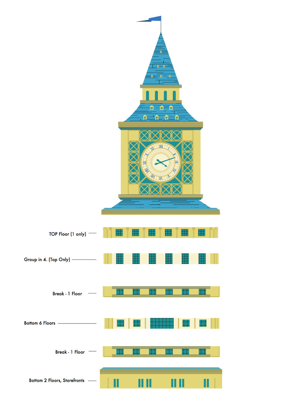Building Clock Layers