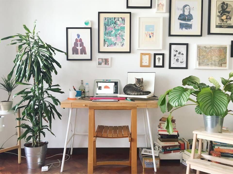 Ana Seixas Workspace